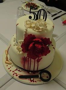 Murder birthday cake