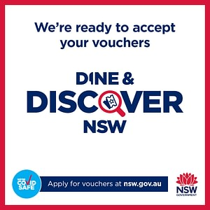 the Murder Master accepts your NSW Discover Vouchers