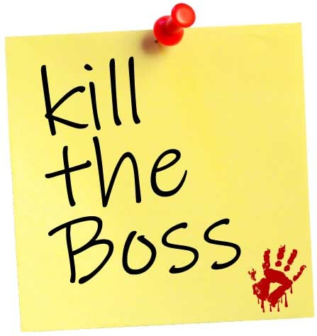 Post-It Note reminder to Kill the Boss