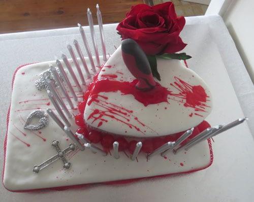 a Bloody Birthday Cake