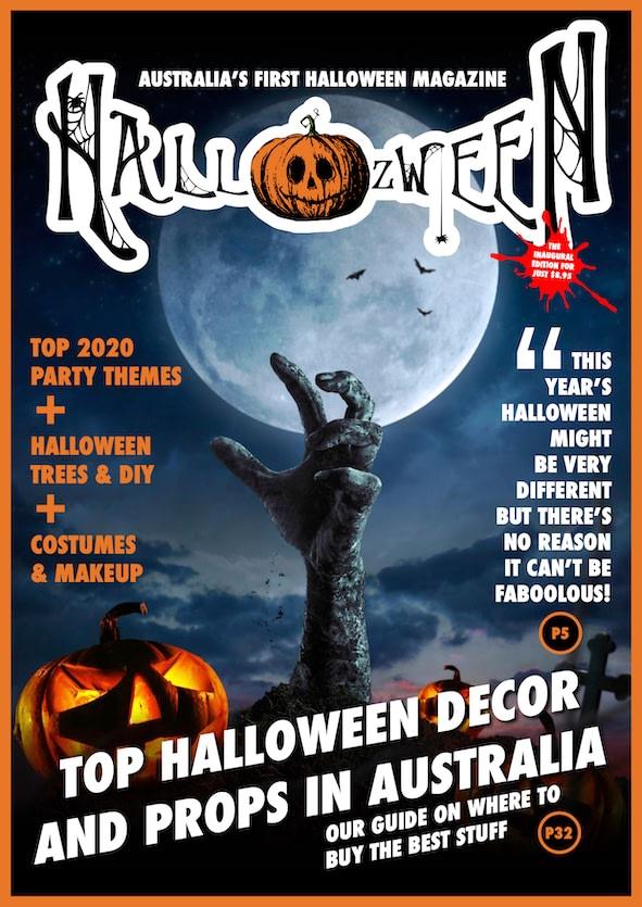the Hallozween magazine cover