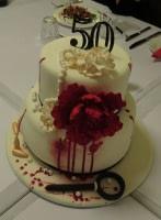 Murder birthday cakle