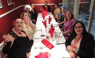 sitting down to a Murder Dinner-Party