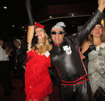 Murder Party goers having a deadly time at the annual Pirelli conference