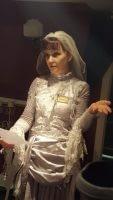 Miss. Havisham, dismayed